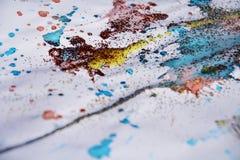 Bożenarodzeniowych błękit menchii kolorowy woskowaty tło i srebrzyści lśnień światła Fotografia Stock
