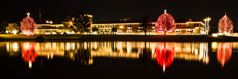 Bożonarodzeniowe Światła zdjęcia stock