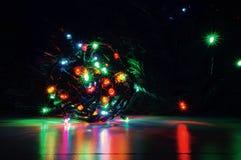 Bożonarodzeniowe Światła obrazy royalty free