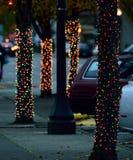 bożonarodzeniowe światła 01 Zdjęcia Stock