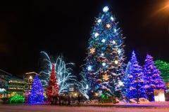 Bożonarodzeniowe Światła obraz royalty free