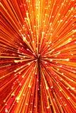 Bożonarodzeniowe Światła Abstrakcjonistyczni Zdjęcie Royalty Free