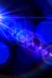 Bożonarodzeniowe Światła Bokeh z abstraktem Obrazy Royalty Free