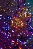 Bożonarodzeniowe światła, mogą używać jako tło zdjęcia royalty free