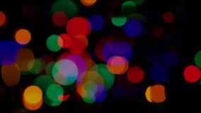 Bożonarodzeniowe Światła tło zbiory wideo