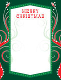bożonarodzeniowe światła template2 Fotografia Stock