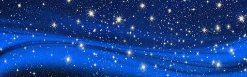 Bożych Narodzeń życzenia, łęk z gwiazdami, tło obrazy stock