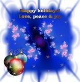 Bożych Narodzeń życzenia, gwiazdy i lśnień światła, zdjęcia stock