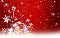 Bożych Narodzeń życzenia, gwiazdy, tło Obraz Stock