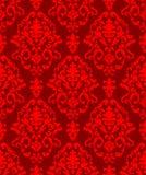 Bożych Narodzeń adamaszka wzór Zdjęcie Royalty Free