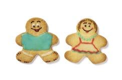 bożych narodzeń ciastek gingerbead Fotografia Royalty Free