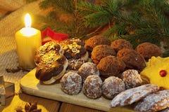 bożych narodzeń ciastek miodownik zrobił pałac cukierkom Obrazy Royalty Free