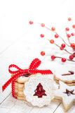 bożych narodzeń ciastek znaleziska wizerunki patrzeją więcej mój portfolio ten sam serie Zdjęcie Stock