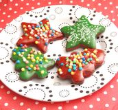 bożych narodzeń ciastek znaleziska wizerunki patrzeją więcej mój portfolio ten sam serie Obraz Stock
