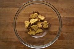 bożych narodzeń ciastek znaleziska wizerunki patrzeją więcej mój portfolio ten sam serie Zdjęcia Royalty Free