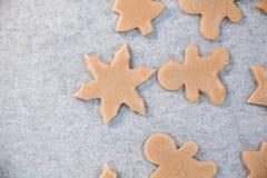 bożych narodzeń ciastek znaleziska wizerunki patrzeją więcej mój portfolio ten sam serie Piec Promocja ciasto ciąć gwiazdy na dre Zdjęcia Stock