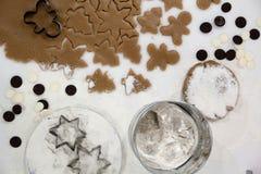 bożych narodzeń ciastek znaleziska wizerunki patrzeją więcej mój portfolio ten sam serie Piec Promocja ciasto ciąć gwiazdy na dre Obrazy Stock