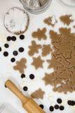 bożych narodzeń ciastek znaleziska wizerunki patrzeją więcej mój portfolio ten sam serie Piec Promocja ciasto ciąć gwiazdy na dre Fotografia Royalty Free