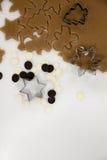 bożych narodzeń ciastek znaleziska wizerunki patrzeją więcej mój portfolio ten sam serie Piec Promocja ciasto ciąć gwiazdy na dre Obraz Royalty Free