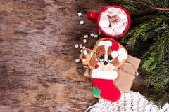 bożych narodzeń ciastek znaleziska wizerunki patrzeją więcej mój portfolio ten sam serie Z świąteczną dekoracją bożenarodzeniowi  Obraz Stock