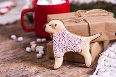 bożych narodzeń ciastek znaleziska wizerunki patrzeją więcej mój portfolio ten sam serie Z świąteczną dekoracją bożenarodzeniowi  Fotografia Stock
