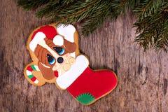 bożych narodzeń ciastek znaleziska wizerunki patrzeją więcej mój portfolio ten sam serie Z świąteczną dekoracją bożenarodzeniowi  Obraz Royalty Free