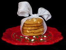 bożych narodzeń ciastka Obrazy Royalty Free