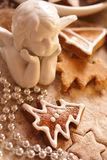 bożych narodzeń ciastka Fotografia Stock