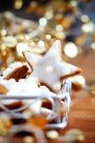 bożych narodzeń ciastka zdjęcie royalty free