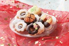 bożych narodzeń ciastka Fotografia Royalty Free