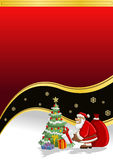 bożych narodzeń Claus Santa czas Zdjęcia Stock