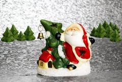 bożych narodzeń Claus Santa drzewo Obraz Stock