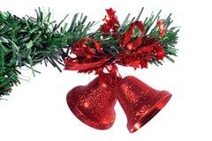 bożych narodzeń dekoraci czerwień Zdjęcia Royalty Free