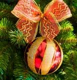 bożych narodzeń dekoraci drzewo Fotografia Stock