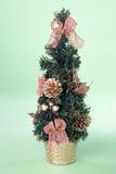 bożych narodzeń dekoraci mały drzewo obrazy royalty free