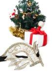 bożych narodzeń dekoraci maska Zdjęcia Royalty Free