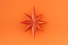 bożych narodzeń dekoraci pomarańcze gwiazda Zdjęcie Stock