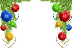 bożych narodzeń dekoraci rama ilustracji