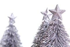 bożych narodzeń dekoraci srebro Obraz Stock