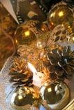 bożych narodzeń dekoraci stół Obraz Royalty Free