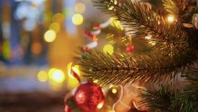 bożych narodzeń dekoraci wakacyjny drzewny czekanie zdjęcie wideo
