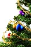 bożych narodzeń dekoracj drzewa xmas Obraz Stock