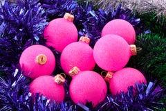 bożych narodzeń dekoracj nowy rok Zdjęcia Royalty Free