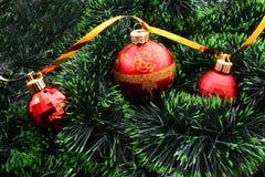 bożych narodzeń dekoracj nowy rok Zdjęcia Stock