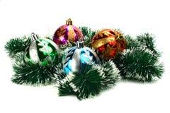 bożych narodzeń dekoracj nowy rok Obraz Stock