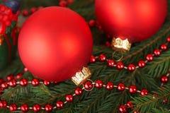 bożych narodzeń dekoracj prezenty drzewni obraz stock