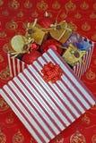 bożych narodzeń dekoracj temat Fotografia Stock