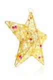bożych narodzeń dekoracja odizolowywający gwiazdowy biel obrazy royalty free