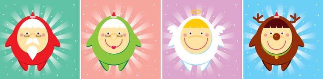 bożych narodzeń doodle set Zdjęcie Royalty Free