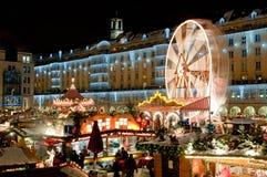 bożych narodzeń Dresden rynek Obraz Royalty Free